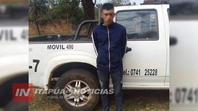 POLICIAS DE GUASU YGUA LOGRAN CAPTURAR A PRÓFUGO DE LA JUSTICIA