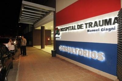 El Hospital del Trauma está saturado, confirma director