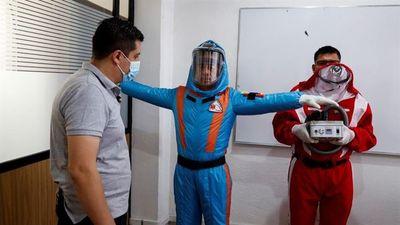 Star Trek inspira a empresa mexicana para crear traje inflable contra COVID