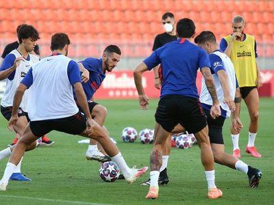El Atlético reanuda los entrenamientos sin Correa y Vrsaljko