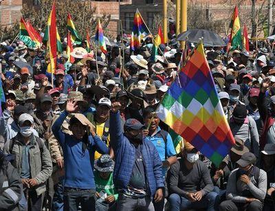 Bolivia inicia nueva semana de protestas tras fracasar el diálogo