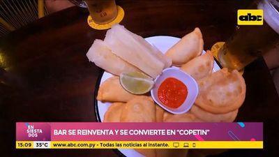 """Bar se reinventa y se convierte en """"copetín"""""""