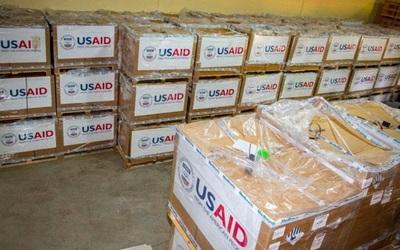 Llegan al país 200 respiradores donados por EE.UU.