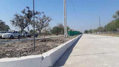 Habilitan obras de pavimentaciones en distritos de Alto Paraguay