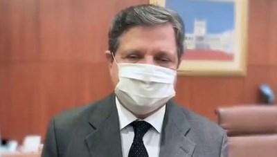 """Ministro promete """"mayor presencia"""" de policías en lugares donde hubo violación de protocolos sanitarios"""