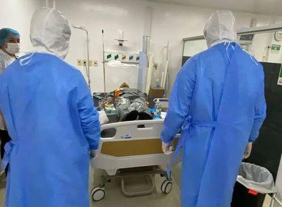 COVID en el Este: No solo pacientes mayores están muriendo