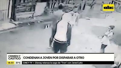 Condenan a joven por disparar a otro
