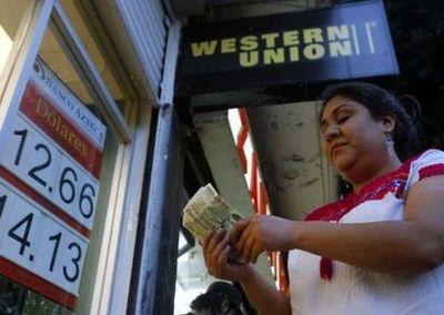 Merma en remesas es de US$ 64 millones en el primer semestre