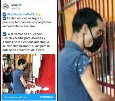 """Críticas contra el MEC por papelón por """"tapabocas imaginario"""" en posteo"""