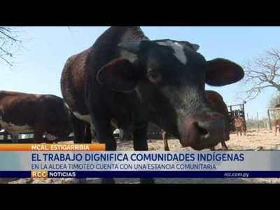 LA COMUNIDAD INDÍGENA TIMOTEO DE LAGUNA NEGRA, CUENTA CON UNA ESTANCIA COMUNITARIA