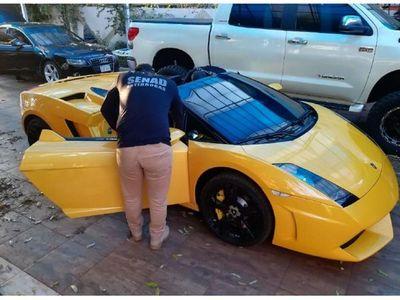 Jueza ordenó venta anticipada de lujoso Lamborghini de Cucho