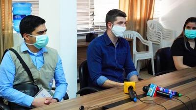 Autoridades de salud analizan proyecto de apertura de frontera