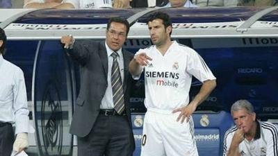 HOY / Luxemburgo responde a Figo y da versión de la salida del portugués del Real Madrid