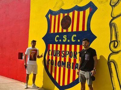 La solidaridad de los mellizos Romero: el Sport Colombia pintará el interior y el exterior del Alfonso Colmán