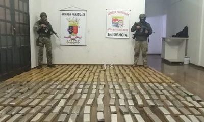 Marinos incautan 346 kilos de marihuana que  iban a ser llevados al Brasil, a través del Paraná – Diario TNPRESS