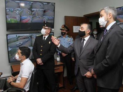 Habilitan cámaras de monitoreo para la lucha contra el contrabando