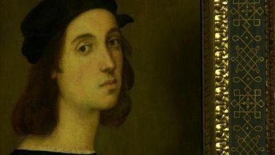 Una reconstrucción facial sugiere que Rafael se retocó la nariz en su autorretrato