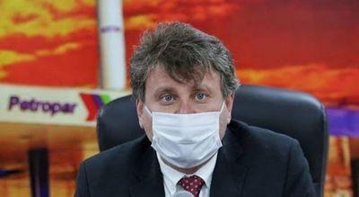 Presidente de Petropar tiene COVID19