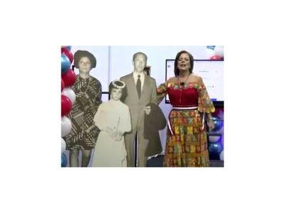 """""""Tengo 37 años"""", proclamó la Ruoti en su festejo virtual"""