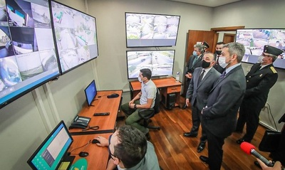 Habilitan sala de monitoreo anticontrabando