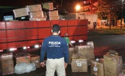 Juguetes de contrabando son incautados en la Avda. San José
