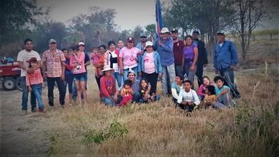 Poblador de Carmelo Peralta y esposa del gobernador en conflicto de tierras