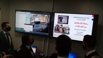 Se inauguró hoy el Centro Nacional de Monitoreo contra el Contrabando