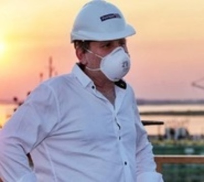"""Adquirí covid-19"", confirma presidente de Petropar"