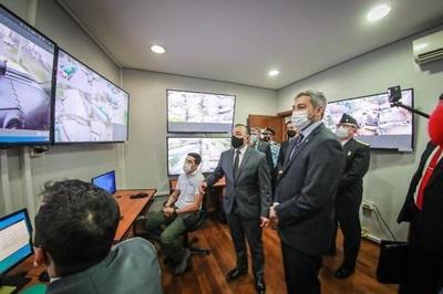 Inauguran sistema de monitoreo anticontrabando