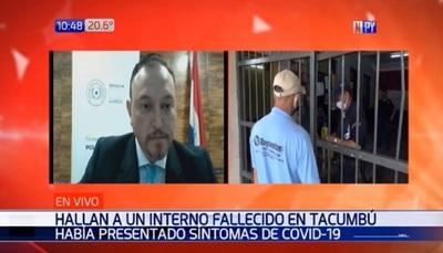 Tacumbú: Hallan sin vida a recluso que padecía síntomas de Covid-19