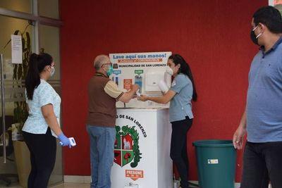 Tres funcionarios municipales con COVID-19 en San Lorenzo