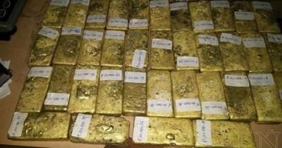 Lingotes de oro: Confirman condena de dos personas por contrabando