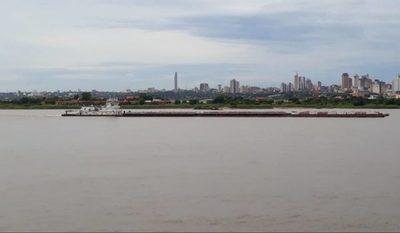 Bajante de ríos es por la falta de lluvias, afirman