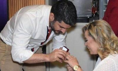 HOY / Así Nenecho le pidió matrimonio a Lizarella