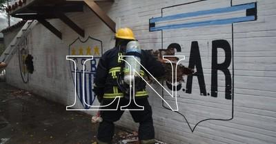 Se registra un incendio en cercanías del Hospital de Trauma
