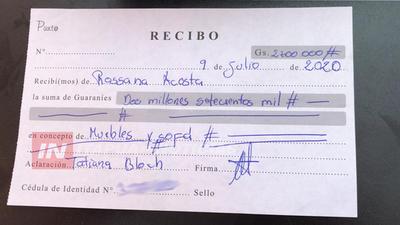PAGO POR MUEBLES  Y JAMÁS SE LOS ENTREGARON, DENUNCIA.