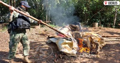 En Itapúa, destruyen campamentos precarios utilizados como puertos clandestinos