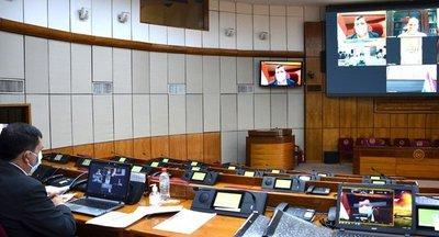 Senado reducirá funcionamiento presencial por 14 días ante caso de Covid-19