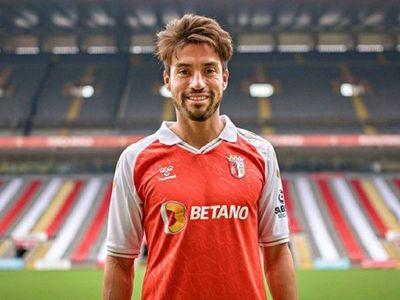 Nico Gaitán, refuerzo estrella del Braga