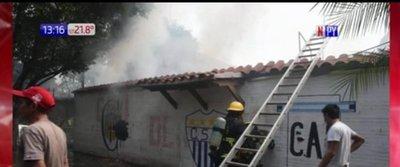 Incendio en zona de Cambala
