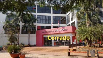 Municipalidad: Al fin decidieron cerrar atención a los contribuyentes