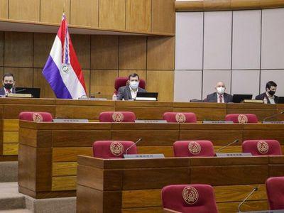 Asistencia mínima de funcionarios del Senado tras caso de Covid-19