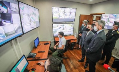 Gobierno inaugura sistema de monitoreo anticontrabando