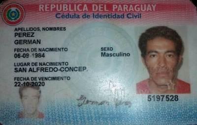 Oriundo de Concepción tiene trágico fin en Cordillera y buscan ubicar a sus familiares