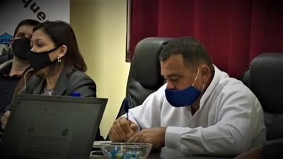 Juan Carlos Yrala es el nuevo presidente de la Junta Departamental de Boquerón