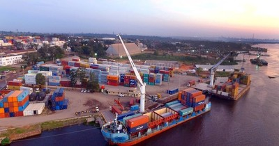 Comercio exterior se redujo en 16,4% hasta el mes de julio