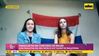 Paraguayas, en concurso internacional de inglés