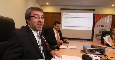 Desembolsos de la AFD alcanzaron los G. 734.977 millones