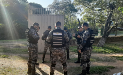 HOY / Proyectan incursión del Grupo Lince en la ciudad de Ñemby a corto plazo