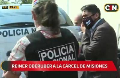 Reiner Oberuber es remitido a la Cárcel de Misiones del COVID-19